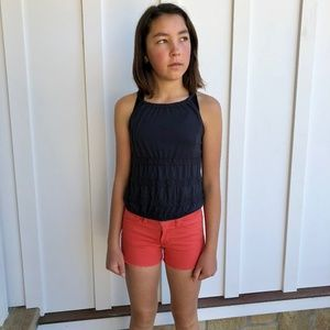 JOE'S CORAL COLORED JEAN SHORTS FOR TEEN GIRL